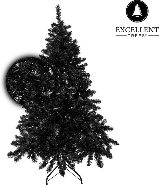 Excellent Trees® Stavanger Zwarte Kunstkerstboom - 150 cm - Luxe uitvoering
