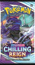 Pokémon Sword & Shield Chilling Reign Booster
