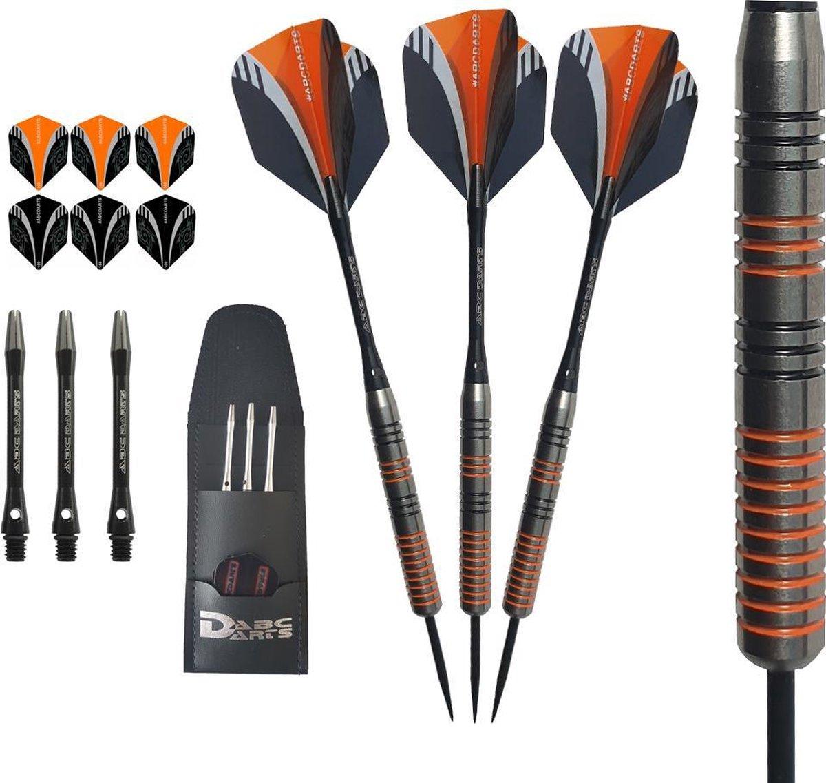 ABC Darts - 90% Tungsten HQ Dartpijlen - Orange Viper - 29 Gram
