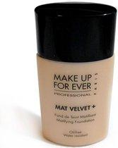 Make Up For Ever Mat Velvet+ Matifying Foundation 25