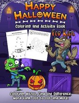 Coloring and Activity Book - Halloween Edition
