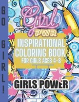 Inspirational Coloring Book for Girls ages 4-8