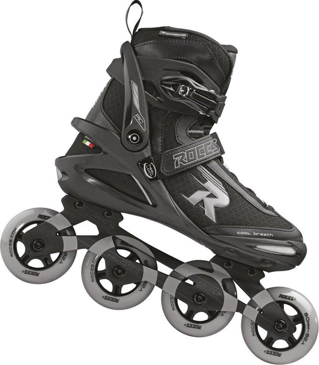 Roces Inline Skates - Pic Tif 80 - Heren - Zwart-Grijs - Maat 48