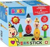 Stick-O Bumba set 14 stuks - magnetisch speelgoed - 5 modellen - speelgoed 1 jaar - peuter speelgoed jongens en meisjes - baby speelgoed - speelgoed jongens 2 jaar
