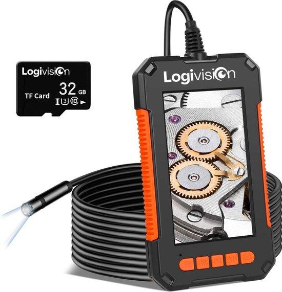 Inspectiecamera met Scherm 10M - Full HD 1080P - 4.3 Inch IPS Scherm - Endoscoop - Neem Foto's & Video's - IP67 Waterdicht - Inspectie Camera
