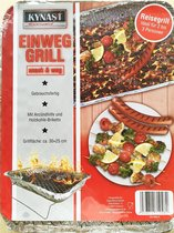 2 x  Wegwerp barbecues - BBQ grill - Instant grill   - houtskoolbarbeque