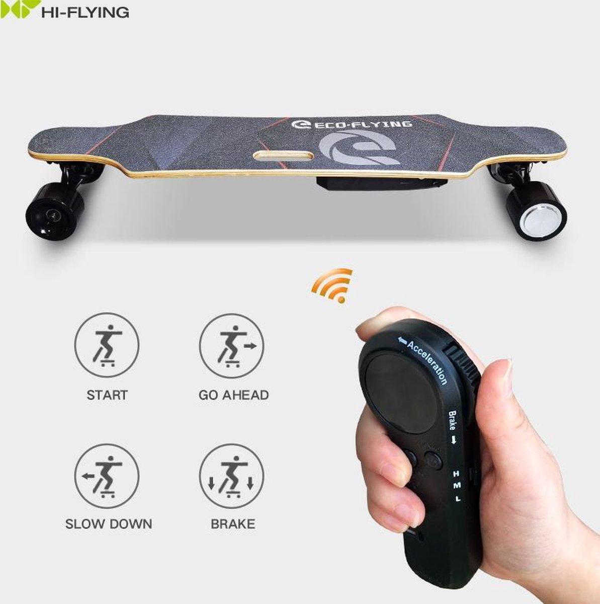 Elektrische skateboard - 20 km/u - 20 km bereik - 350W