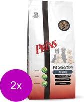 Prins Procare Fit-Selection Senior Gevogelte&Vlees - Hondenvoer - 2 x 15 kg