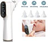 Hoy en Dia® Neusreiniger baby - Neuszuiger – elektrisch - baby neusreiniger - Neuspeer - Snoetenpoetsers - wit