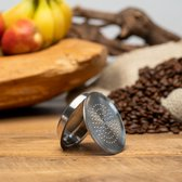 Herbruikbare - Hervulbare - Senseo koffie capsule - koffie cups - RVS
