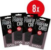 Lafita   Parfumcard Luxe   Zwart Narbonne   8 stuks