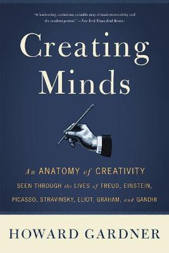 Boek cover Creating Minds van Howard Gardner (Paperback)