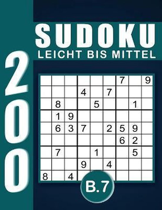 Sudoku Erwachsene Leicht Bis Mittel Band 7