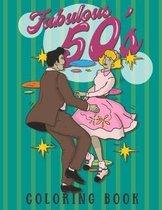 Fabulous 50's Coloring Book