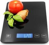 Hermanos Digitale Precisie Keukenweegschaal - 1gr tot 15kg - Incl. Batterijen...