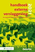 Boek cover Handboek Externe Verslaggeving 2021 van