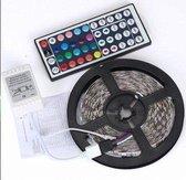 LED-strip - 5 meter - Met afstandsbediening - RGB - Multi-colour