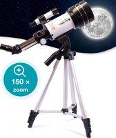 Vultus Telescoop - 150x - Sterrenkijker Voor Kinderen/Beginners en Volwassenen - Inclusief Statief en Draagtas - Vultus 30070