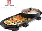 Life-is-Licious HotPot & Grill - Gourmetstel - Grilplaat - Grill - BBQ