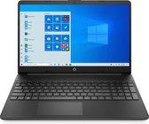"HP 15s-fq0590nd DDR4-SDRAM Notebook 39,6 cm (15.6"") 1920 x 1080 Pixels Intel® Celeron® 4 GB 128 GB SSD Wi-Fi 5 (802.11ac) Windows 10 Home S Zwart"