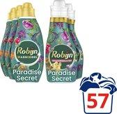 Robijn Paradise Secret Wasmiddel en Wasverzachter - 57 wasbeurten - Voordeelverpakking