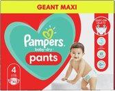 Pampers Baby Dry Pants maat 4 -82 stuks
