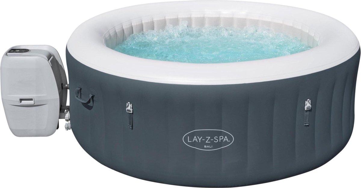 Lay-Z-Spa Jacuzzi ''Bali Airjet'' Bubbelbad voor 4 personen, inclusief soft-touch bedieningspaneel
