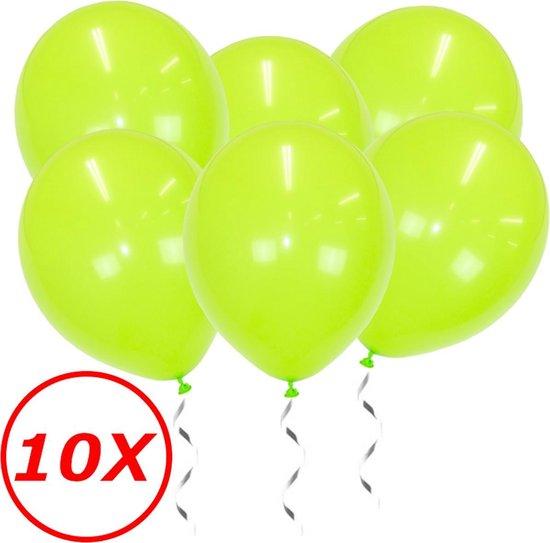Lime Groene Ballonnen Verjaardag Versiering Groene Helium Ballonnen Feest Versiering Jungle Versiering - 10 Stuks