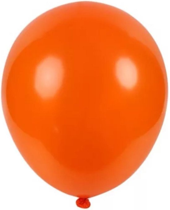 Latex - Super Grote /Reuze Feest Ballon_ Oranje_ versiering