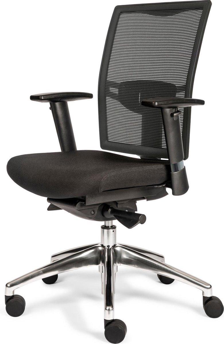 Mijn Werkkamer - Dexy - Bureaustoel - Zwart - (N)EN 1335 Normering - Gemonteerd Geleverd - 10 Jaar Garantie