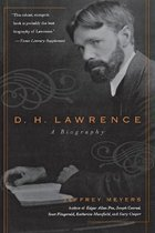Boek cover D.H. Lawrence van Jeffrey Meyers