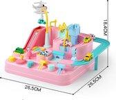 Interactieve Racebaan stimuleert motoriek - Educatief - Pop It - Speelgoed Jongens - Speelgoed Meisjes - Peuter & Kleuter - Baby speelgoed - Bordspel