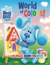 Blue's Clues & you coloring book for kids
