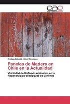 Paneles de Madera en Chile en la Actualidad