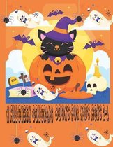 Halloween Coloring Books for Kids Ages 2-4