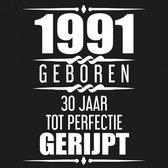 1991 Geboren 30 Jaar Tot Perfectie Gerijpt