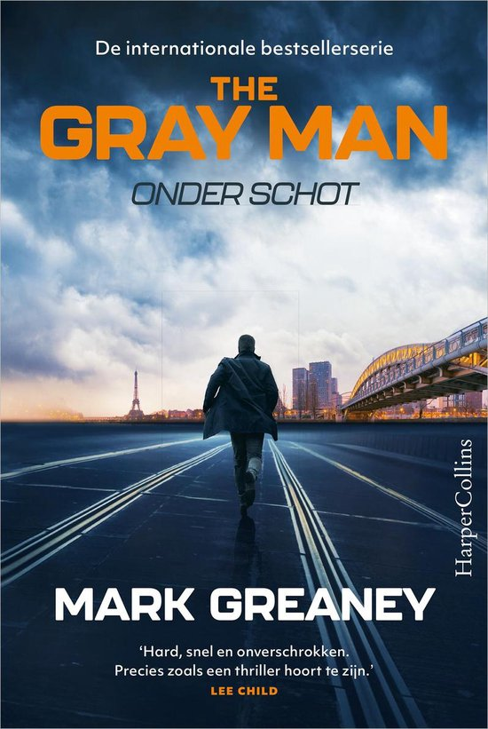 Boek cover The Gray Man - Onder schot van Mark Greaney (Onbekend)