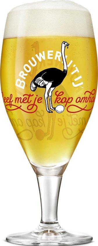 Brouwerij 't IJ speciaal bierglazen - 30cl - 6 stuks