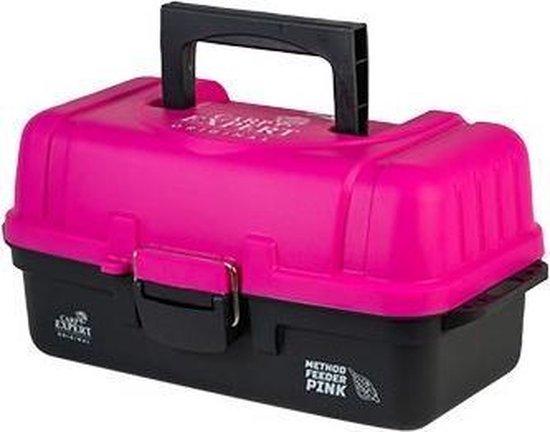 Tackle Box- Roze - Opbergdoos - Viskoffer - Kunststof - Makkelijk mee te nemen