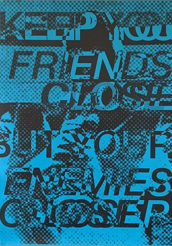 SAM Bult art - Poster - Grafische Kunst - Quotes Godfather - 50 x 70 cm - Poster Zonder Lijst - Print Origineel Ontwerp - Woonkamer - Design - Wooninrichting -  Betaalbare Kunst