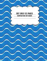 Dot Grid 100 Pages Composition Notebook