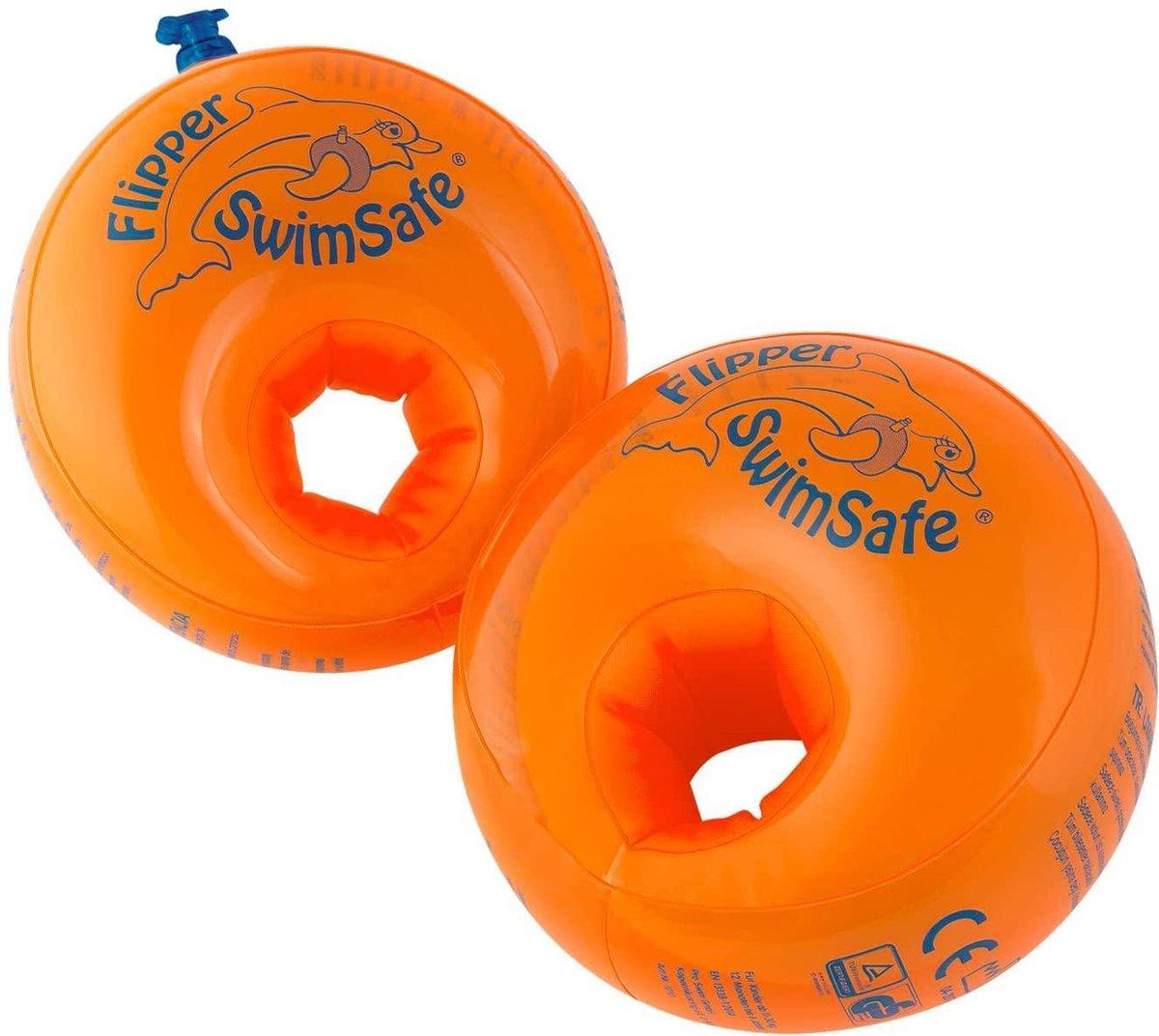 Zwembandjes | 1-6 Jaar | Oranje | Polyurethaan | Zwembad | Kinderen | Peuters