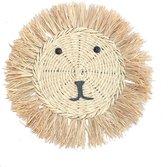 Muurdecoratie Lewis Lion   Kinderkamer   50 cm   100% gras   naturel  Maison Boho Kids