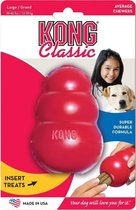 """Kong hond Classic rubber """"M"""", rood"""