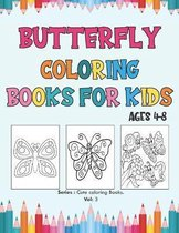 Butterfly Coloring Books for Kids Ages 4-8.