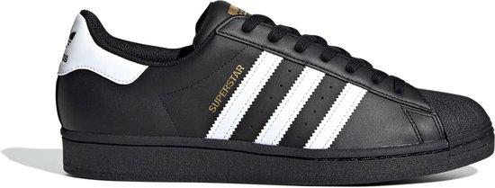 adidas Superstar Heren Sneakers - Core Black/Ftwr White/Core Black - Maat 46