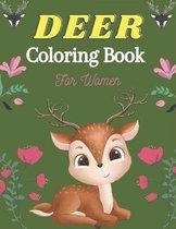 DEER Coloring Book For Women