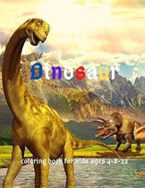 Dinosaur: Coloring Book for Kids ages 4-8-12