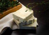 Ezelinnenmelk Zeep met Olijfolie , 100% Natuurlijke Handgemaakte Zeep, Gezichts & Lichaamszeep, Donkey Milk Soap