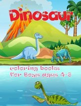 Dinosaur Coloring Books For Boys Ages 4-8